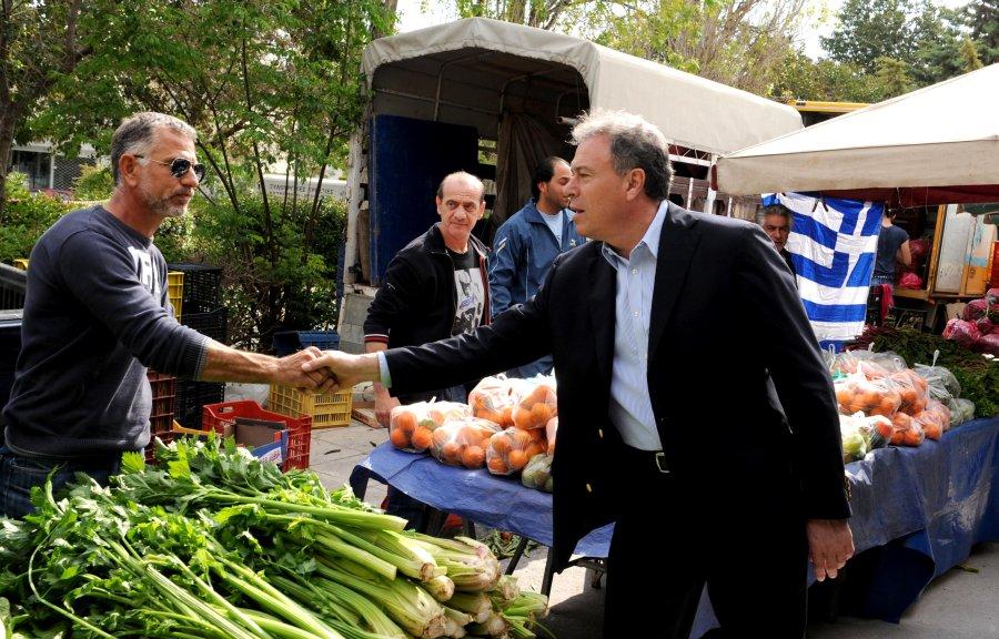 Δωρεάν λαϊκή αγορά για ευπαθείς ομάδες στο Κορωπί