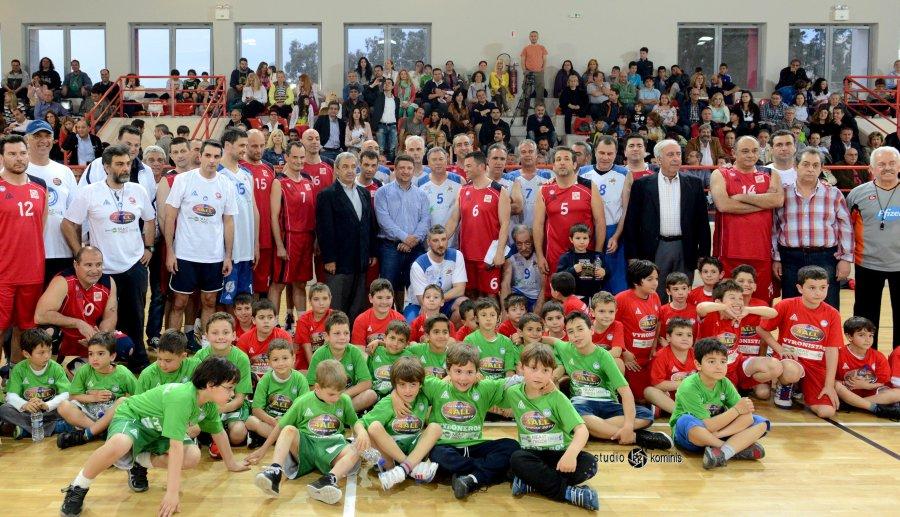 Αθλητική γιορτή μπάσκετ με πρωταγωνιστές τα παιδιά