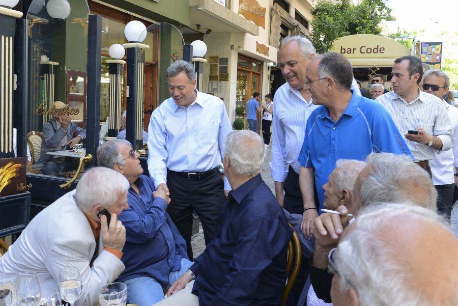 Ολοήμερη περιοδεία Γ. Σγουρού στους δήμους του Πειραιά