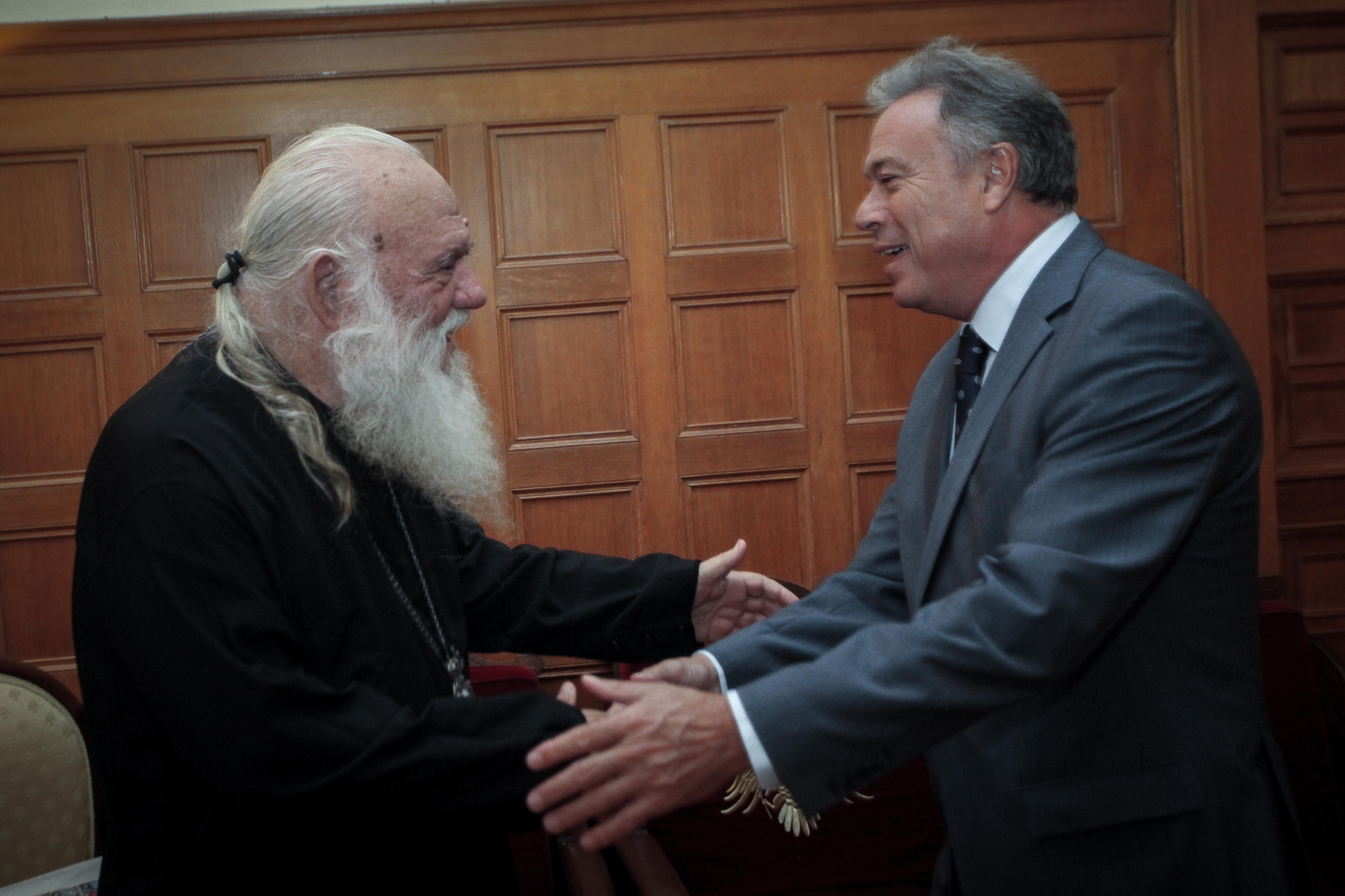 Συνάντηση με τον Αρχιεπίσκοπο Αθηνών και Πάσης Ελλάδας κ. Ιερώνυμο