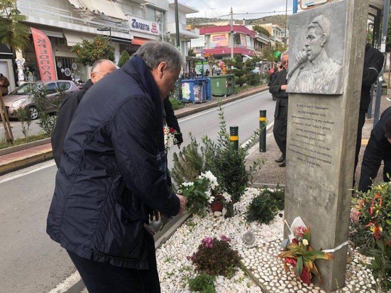 Περιοδεία στο Κερατσίνι και φόρος τιμής στη μνήμη του αδικοχαμένου Παύλου Φύσσα