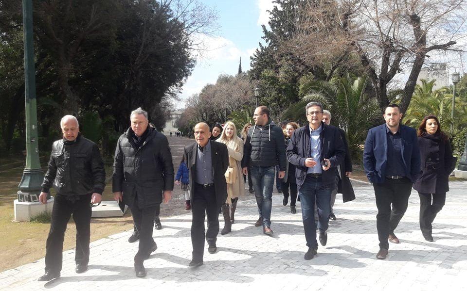 """Συνάντηση με τα μέλη του Συλλόγου """"Αθηνά"""" για το Πεδίο του Άρεως"""