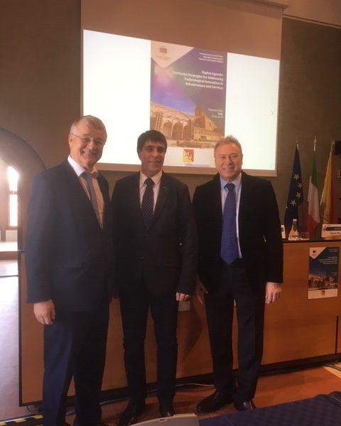 Σε διάσκεψη της Επιτροπής των Περιφερειών για τις ψηφιακές υποδομές  ο Γ. Σγουρός