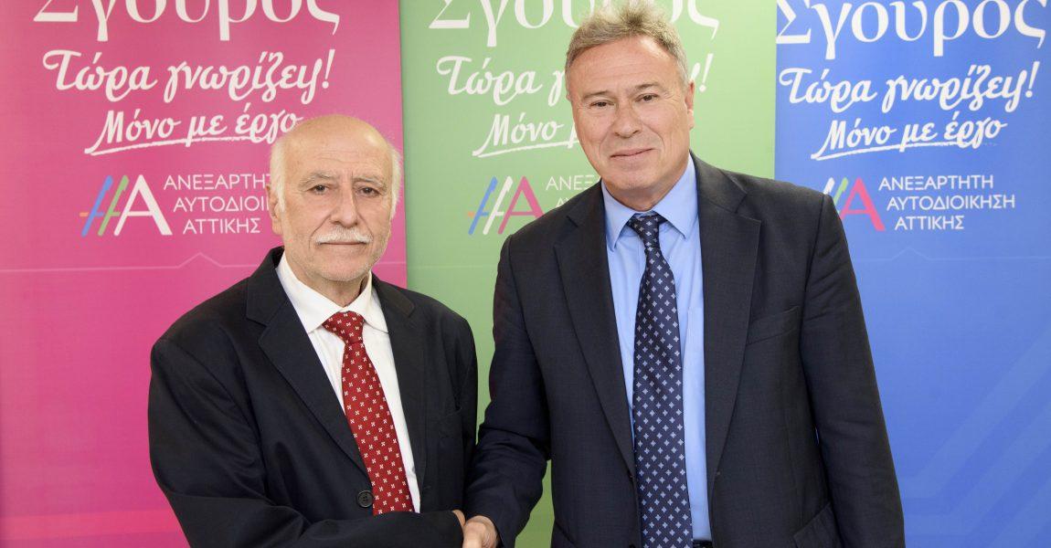 Ο Γεράσιμος Γιομπαζολιάς υποψήφιος με τον Γ. Σγουρό