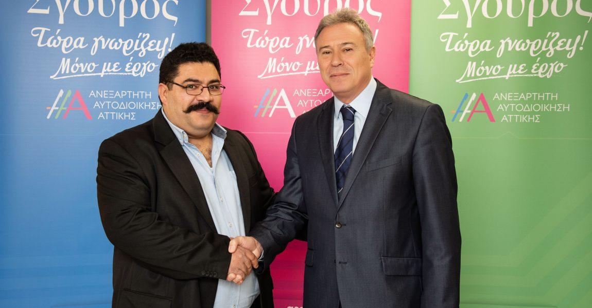 Ο Κυριάκος Κοντάκης υποψήφιος με τον Γ. Σγουρό