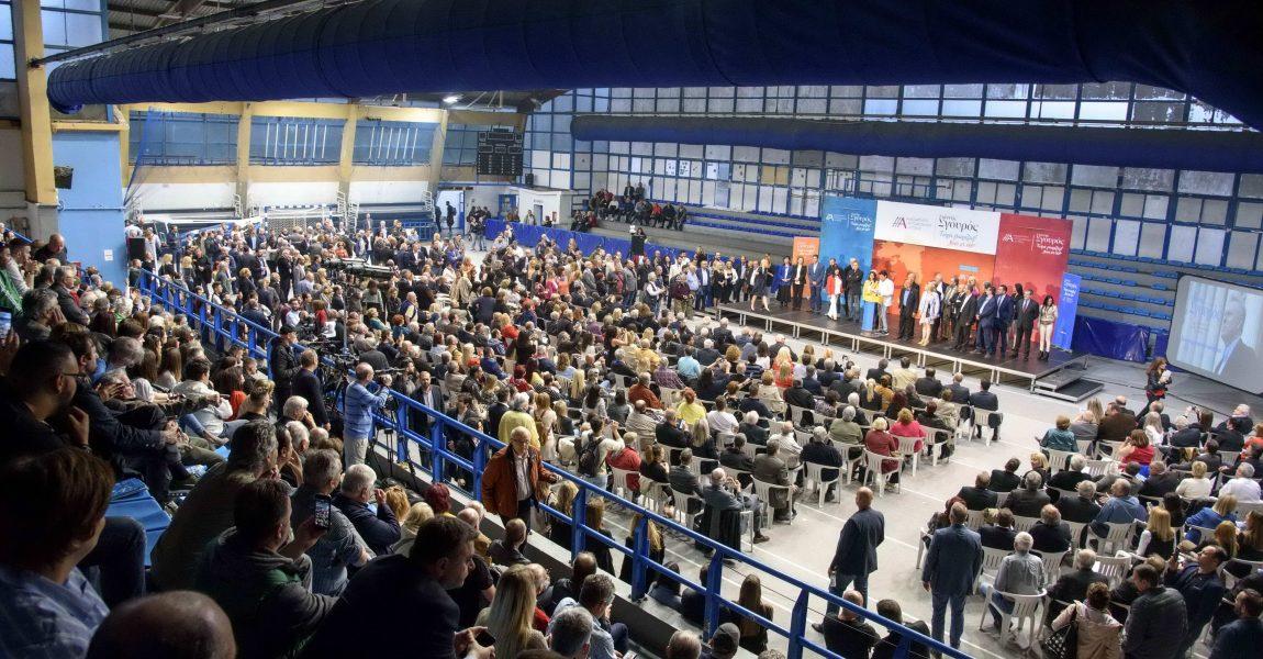 Μήνυμα νίκης και ελπίδας από τον Γ. Σγουρό στην παρουσίαση του προγράμματος «Αττική 2020-2030»