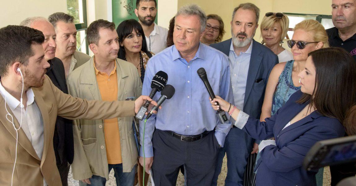 Δήλωση Γ. Σγουρού κατά την άσκηση του εκλογικού δικαιώματος : «Στις περιφερειακές εκλογές κρίνεται κάτι μεγαλύτερο από τις πολιτικές εντυπώσεις»