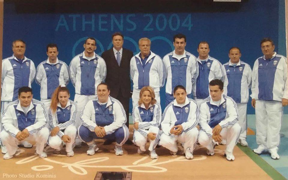 Στιγμές, μοναδικές και ανεπανάληπτες! 1984 – 2004 Εθνική ομάδα άρσης βαρών Αθήνα 2004