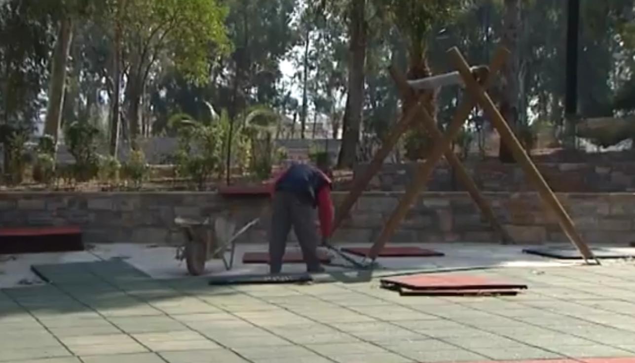 Έργα που είχαν μπει σε εκτέλεση το 2011-2014  στο Άλσος Περιστερίου
